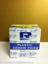 Plastic Arrow fruit picks 1000 count Royal Paper Products Inc. New in Box BY3