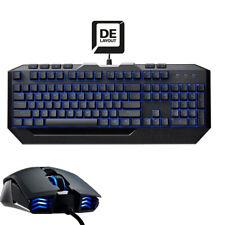 Cooler Master Devastator II Gaming Tastatur Keyboard & Maus LED Blau Beleuchtet