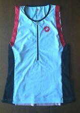 CASTELLI Triathlon Tri Top XL Pre-worn Great Condition Cycling Swimming Running