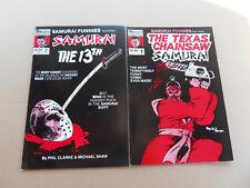 Samurai Funnies 1 - 2 . Lot Complet . Featuring : ... Solson 1986 . VF - minus