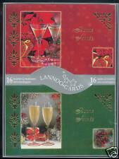 Coffret de 16 cartes et enveloppes BONNE ANNÉE