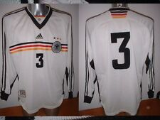 Germany Deutschland Adult XL Matchworn Shirt Jersey Player Soccer Trikot Adidas