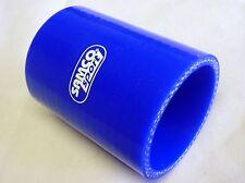 Durite Silicone droite 63 mm 63mm manchon droit SC Sport 4plis 76mm de long BLEU