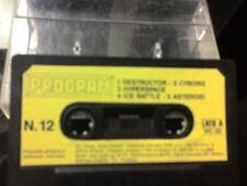 PROGRAM n. 12 x COMMODORE VIC 20 e SPECTRUM 16/48 K SIPE VIC20 VIC-20 no c64