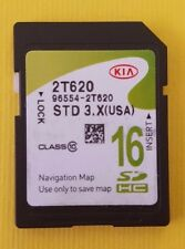 96554-2T620 96554 2T620 2014 2015 KIA OPTIMA Navigation SD MAP DATA CARD OEM
