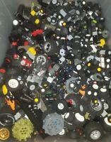 LEGO Wheels + Tyres job lot 1Kg / 1000g Axels Technic City spares race car truck