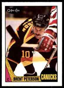 1987-88 O-Pee-Chee Brent Peterson ! #263