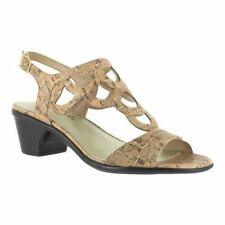 3a19e7f99c044 Cork Med (1 3 4 to 2 3 4 in) Heel Height Sandals for Women