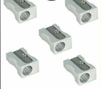 New 12 METAL PENCIL SHARPENERS WITH FREE DELIVERY UK