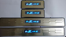 Led Car Sill Protectors Door Sill Plate Stainless Steel Sill Plate-Maruti DZIRE