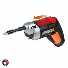 Cordless Electric Screwdriver Battery Powered With Light Extended Reach Drill