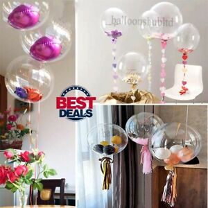 """18"""" 24"""" 36"""" Clear BOBO Balloons Bubble Balloon Globos Balloon For All Occasion"""