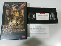 DUNGEONS & DRAGONS DRAGONES Y MAZMORRAS JEREMY IRONS VHS CINTA TAPE CASTELLANO