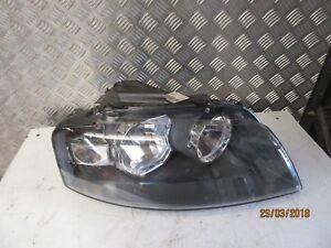 2008 Audi A3 O/S Driver Headlight 8P0941004L