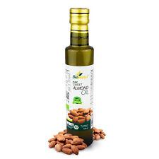 Certified Organic Cold Pressed Sweet Almond Oil 250ml Biopurus