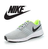 Nike Star Runner (GS) Youth Running Shoes 907254 Grey Volt size 4 5 6 Y