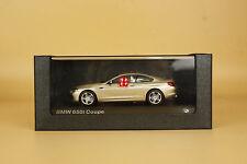 1/43 bmw 650i coupe gold color die cast model