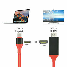 USB 3.1 Type C to HDMI 1080P HD TV Cable Adapter For Samsung S10 Note 9 MacBook