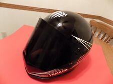 Vintage Black 1983 Yamaha SRX 440 Full Face Large Snowmobile Helmet V Max Rare