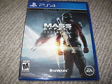 NEW Mass Effect Andromeda Limited Deluxe Edition Sony Playstation 4 PS4