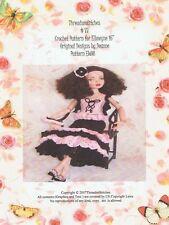 """#77 Crochet Pattern EW08 for Ellowyne Wilde 16"""""""
