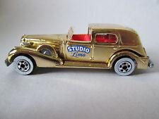 1981 Hot Wheels California Custom Gold Chrome '35 Cadillac Caddy Studio Limo