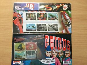GB Presentation Pack 450 2011 THUNDERBIRDS GERRY ANDERSON INC M/S + COMIC
