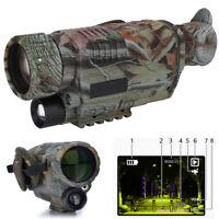 5x40 Infrared IR Night Vision Digital Video Camera Monocular Scope Telescope DV