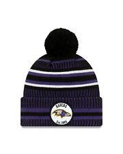 New Era NFL Baltimore Ravens Home 2019/2020 Sport Knit Sideline Beanie Hat