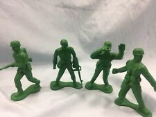 Toy Soldiers 4 Plastic NEW WWII Marx GIs