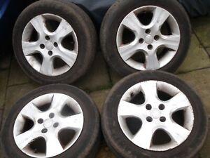 "Honda Jazz 15"" inch ENNEI J2 Alloy Wheels ET45 5.5J with 175x65x15 tyres"
