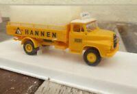 Brekina 4508 MAN 520 LKW Getränke-Pritsche offen Hannen Brauerei 1:87 H0 in OVP
