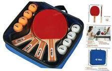 New listing Premium Table Tennis Paddle Set, Includes 4 Paddles, 3-Star Balls and Carry