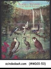 TUVALU - 2000 BIRDS OF SOUTH PACIFIC - MINIATURE SHEET MNH