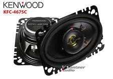 """Kenwood KFC-4675C 4X6"""" 4-Ohm 20 Watt Rms Coaxial Speaker"""