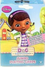 Disney Doc Mcstuffins Jumbo Playing Cards Disney Go Fish Rummy Snap New Kids