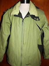 Patagonia Green Powder Bowl Men's Ski/Snowboarding Hooded Jacket Sz XL