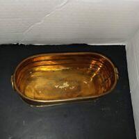 Vintage Brass Oval Planter Brass India