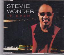 Stevie Wonder-If Ever Promo cd single