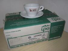 CAFFE' INCAS Lucca SERVIZIO BAR 6 Tazze Tazzine Cappuccino Cappuccio Thè Cups