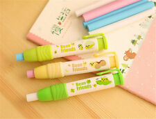 School Students Pen Shape Eraser Rubber Stationery Kid Gift Toy