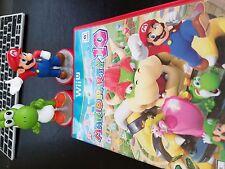 Mario Party 10 (Nintendo Wii U, 2015) plus 2 amiibo