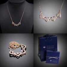 Modeschmuck-Halsketten mit Herz-Legierung