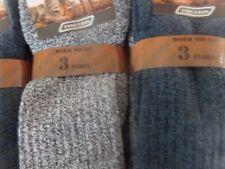 lots de 6 a 12 paires de chaussettes homme de travail épais renforce uni coton