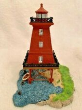 Harbour Lights 530 Southwest Reef, La Lighthouse w Coa. 2000 Society Exclusive