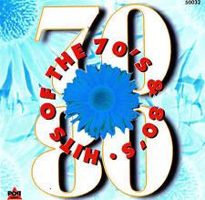 HITS OF THE 70's & 80's - Top Oldies CD 16 Tracks NIP