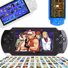 Portable 8GB 4.3'' PSP Handheld Game Console + 10000 Games Built-In + Camera