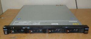Lenovo System x3250 M6 Server-Xeon 1230 V5 QC 3.4GHz-64GB-4x 4TB-M1215-2xPSU-1U