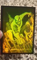 Vintage 90s Spiderman Hologram Card Marvel Fleer Universe 1994 Card 1 of 4 RARE