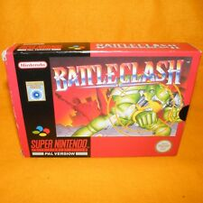 VINTAGE 1992 Super Nintendo Entertainment System SNES PAL gioco battaglia Clash